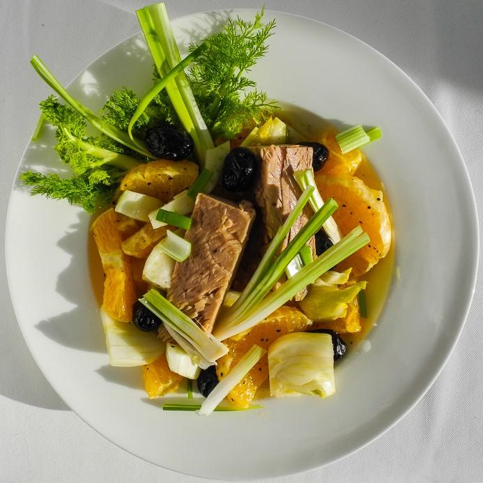 Orangensalat-mit-Thunfisch