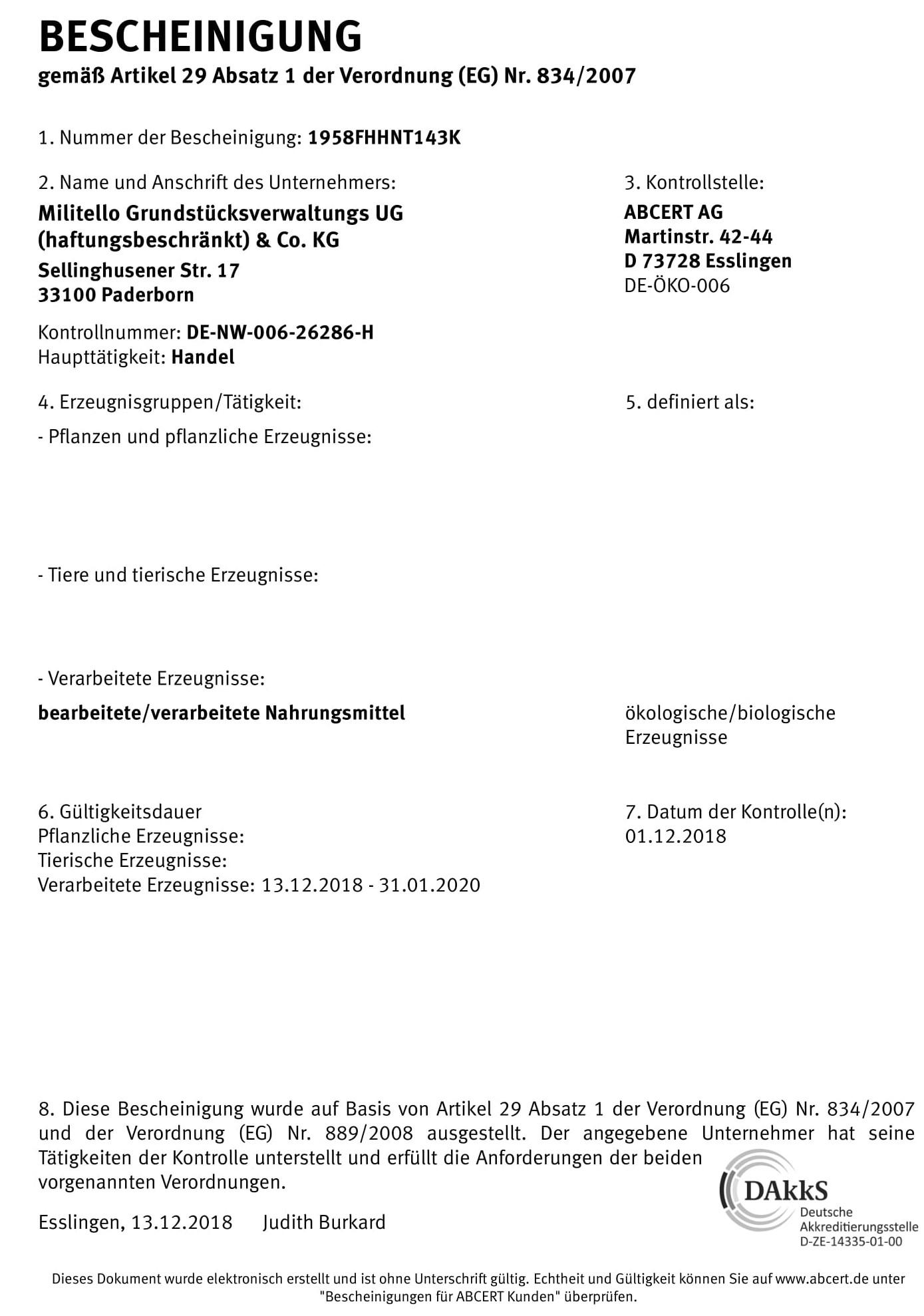 Zertifikat-Militello-ABCERT